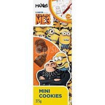 Maxies Mini cookies Gru3 caja 225 g