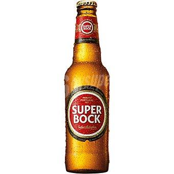 Superbock cerveza rubia portuguesa botella  33 cl