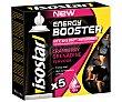 Gel energético Booster Pack 5 uds x 20 g ISOSTAR Energy