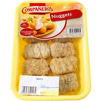 Compañeros nuggets de pollo bandeja 200 g