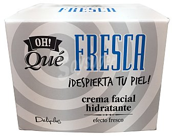 Deliplus Crema facial hidratante efecto fresco (oh¡ que fresca) Tarro de 50 cc