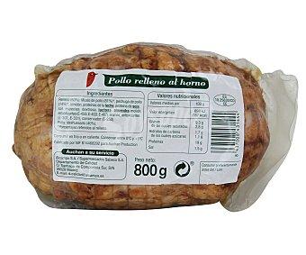 Auchan Pollo relleno al horno 800 gramos