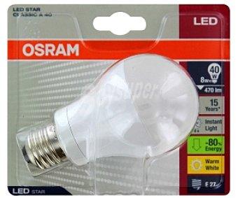 OSRAM Bombilla led estándar 8W E27 Luz Cálida 1 Unidad
