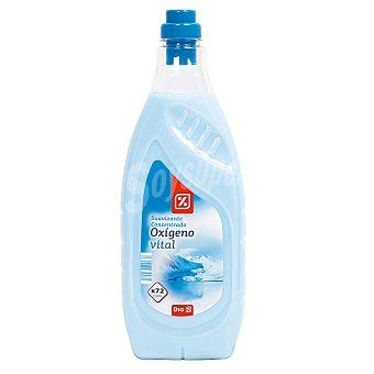 DIA Suavizante concentrado oxígeno vital  Botella de 72 lavados