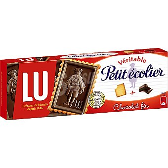 LU PETIT ECOLIER-MILKA Galleta con chocolate Caja 150 g