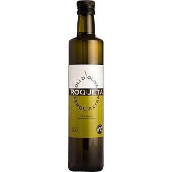 Roqueta Aceite de oliva virgen extra DOP Aceite de Mallorca Botella 500 ml