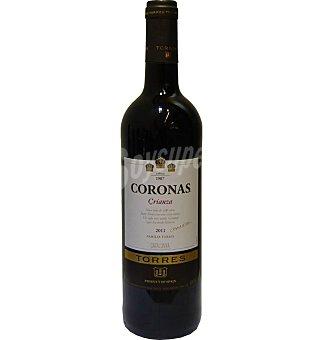 Torres Coronas Vino tinto crianza D.O. Cataluña 75 cl