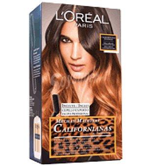 Recital Preference L'Oréal Paris Mechas Californianas Intensas para cabellos castaños oscuros 1 ud