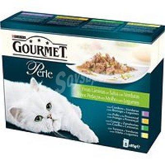 Gourmet Purina Finas láminas verduras Perle 8 x 85gr