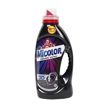 Micolor Detergente Black Gel Máquina Líquido Colores Oscuros 23 lavados