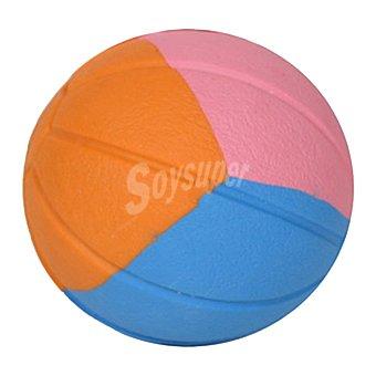 Ball sport Pelota multicolor para perros de raza grande realizada en caucho 1 unidad