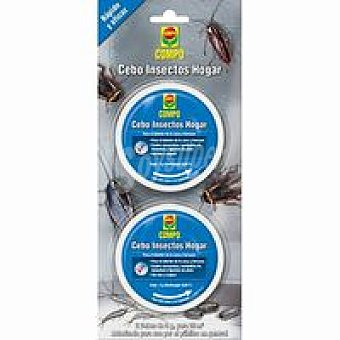 Compo Cebo insectos hogar Pack 1 unid