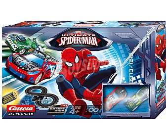 CARRERA Circuito de Scalextric Spiderman 1 Unidad
