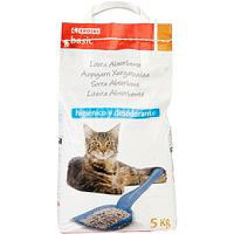 Eroski Arena para gatos absorbente Bolsa 5 kg