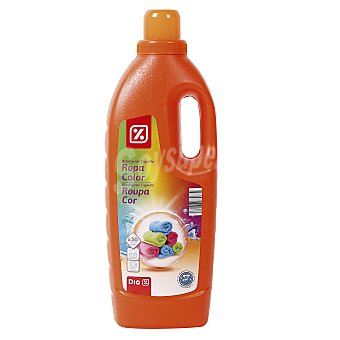 DIA Detergente máquina líquido para ropa de color botella 30 lv