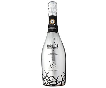 Marina Espumante Vino Blanco espumamte con denominación de origen de Alicante Botella de 75 Centilitros