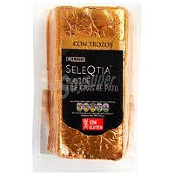 Eroski Seleqtia Bloc foie gras de pato 100 g