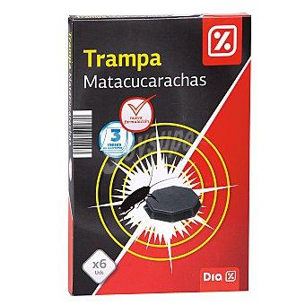 DIA Insecticida trampa cucarachas caja 6 uds 6 uds