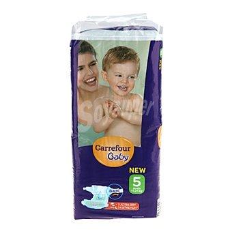 Carrefour Baby Pañal con elástico T5 de 11-25 kg. 44 unidades