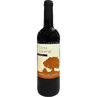 CORTE IMPERIAL Vino tinto roble D.O. Ribera del Duero elaborado para grupo El Corte Inglés Botella 75 cl
