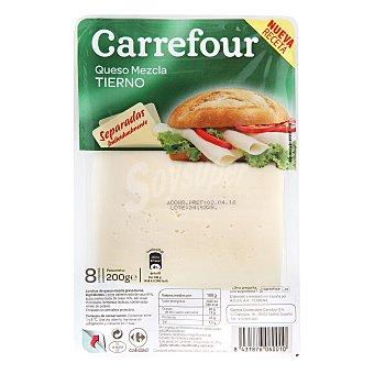 Carrefour Queso tierno en lonchas 200 g