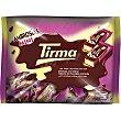 Ambrosias tradicionales mini galletas de barquillo rellena cubierta de chocolate con leche Bolsa 216 g Tirma