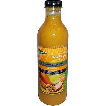 El Corte Inglés Zumo exprimido tropical Botella 750 ml