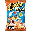 Snack mix de formas y sabores Mega 4 Bolsa 180 g Cheetos Matutano