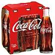 Bebida de cola Pack 6 botellines x 20 cl  Coca-Cola