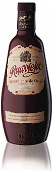 Ruavieja Aguardiente de orujo de Galicia Botella 70 cl