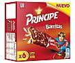 Barritas de cereales y galleta con chocolate Pack 6 u x 27 g - 162 g Príncipe
