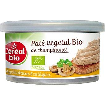 CEREAL BIO Paté vegetal de champiñones ecológico Lata 125 g