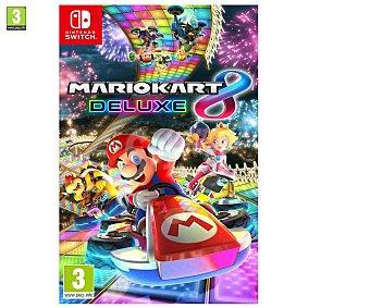 Nintendo Videojuego Mario Kart 8 Deluxe para Nintendo Switch. Género: carreas. pegi: +3 Mariokart 8 Deluxe Switch