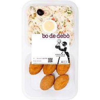 Bo de Debo Ensaladilla + croquetas de pollo Tarrina 400 g