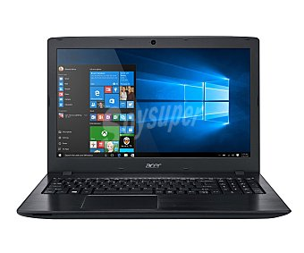 """Acer Ordenador portátil con pantalla de 15.6"""" acer F5-572G-762Y, procesador: Intel Core i7-6500U, Ram: 8GB, Disco duro: 1TB, gráfica: nvidia geforce 920M, Windows 10 15,6"""""""
