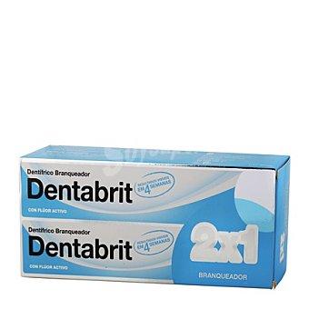 Dentabrit Dentífrico blanqueador Pack 2x125 ml