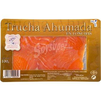 Ahumados Domínguez Trucha ahumada Sobre 100 g