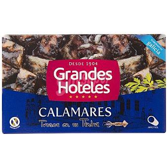 Grandes hoteles Calamares trozos tinta Lata 72 g