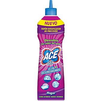 Ace Limpia hogar gel con lejía + desengrasante con tapón dosificador Botella 500 ml