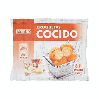 Hacendado Croquetas congeladas cocido Paquete 350 g