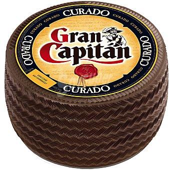 Gran Capitán Queso curado peso aproximado pieza 3 kg
