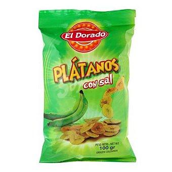El Dorado Platanitos salados 100 g