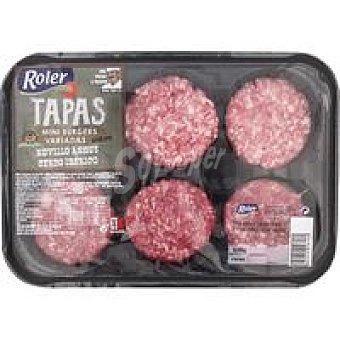Roler Mini hamburguesa cerdo-vacuno Angus Bandeja 240 g