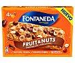 Barritas de cereales con avellanas y gotas de chocolate enriquecidas con magnesio 4 uds. x 40 g Fontaneda