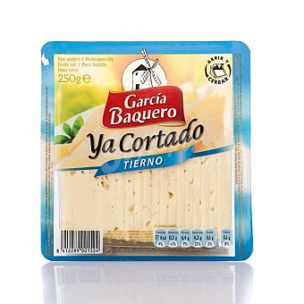 García Baquero Queso tierno ya cortado Envase 250 g