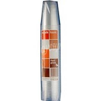 NUPICK Vaso transparente 250 cc Pack 50 unid