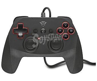 Trust Mando gaming 13 botones, 2 joysticks, cable 3m., Compatible PC / PS3 GXT 540 yula