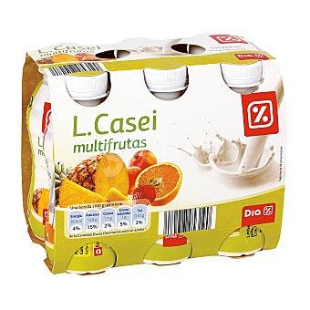DIA LIFEFORM Yogur líquido multifruta pack 6 unidades 100 g Pack 6 unidades 100 g