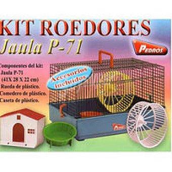Pedros Kit jaula para hamster blanco Pack 1 unid