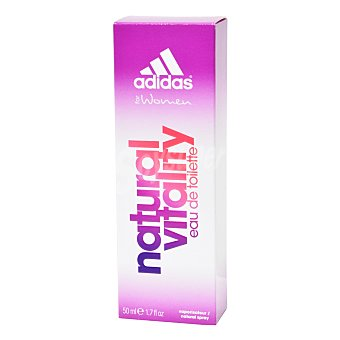Natural vitality Agua de colonia woman Adidas 50 ml